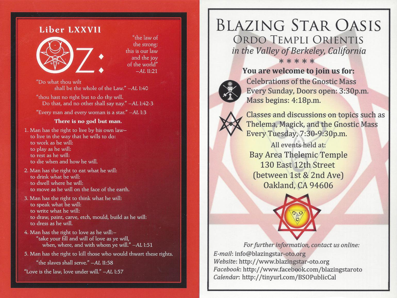 Blazing Star Oasis